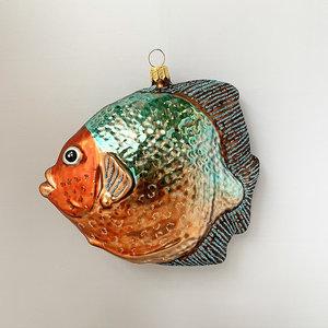 Kerstbal Piranha