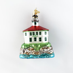 Christmas Decoration Eldred Rock Lighthouse