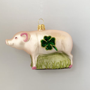 Christmas Decoration Lucky Pig