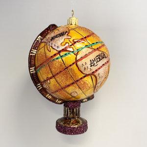 Kerstbal Antieke Globe