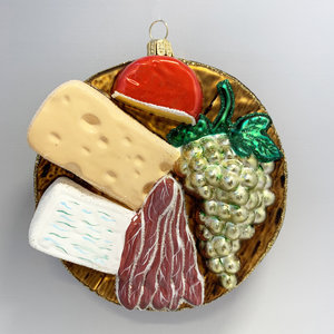Christmas Decoration Board of Snacks