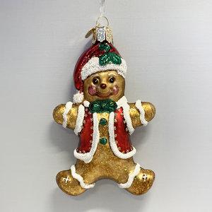 Kerstbal Koekenmannetje