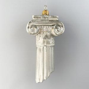 Christmas Decoration Ionic Column