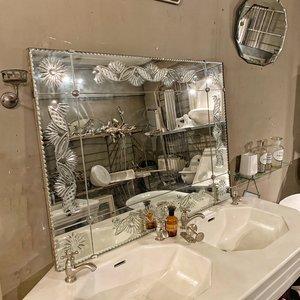 Antieke spiegel Art Deco