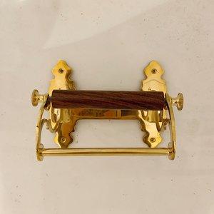 Toiletrolhouder Art Nouveau Koper