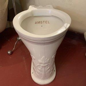 Antique wc pan Acanthe