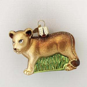 Christmas Decoration Lion Cub
