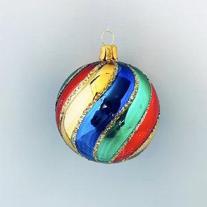 Kerstbal Kleurrijk