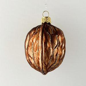 Christmas Decoration Large Walnut
