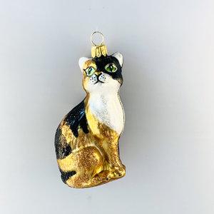 Kerstbal Calico Kat