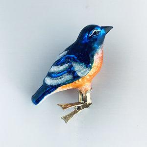 Vogelclip Blauwstaart