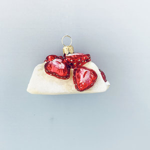 Christmas Decoration Strawberry Crepe