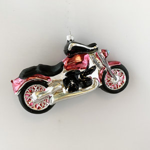 Kerstbal Motorfiets