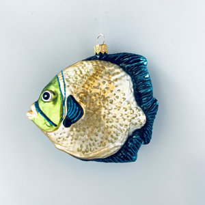 Christmas Decoration Tropical Fish Yellow
