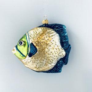 Kerstbal Tropische Vis Geel