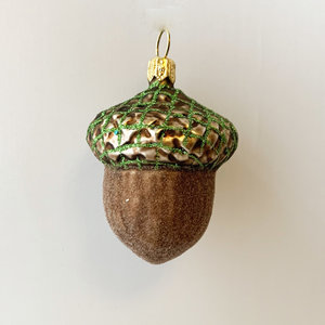 Christmas Decoration Acorn Brown