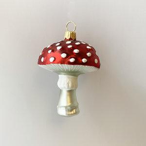 Christmas Decoration Mushroom Medium