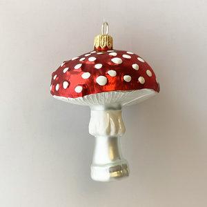 Christmas Decoration Large Mushroom