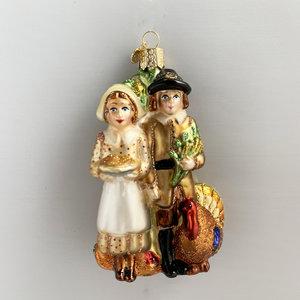 Christmas Decoration Pilgrims Thanksgiving