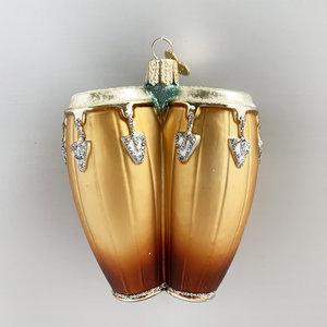 Kerstbal Conga Drums