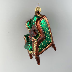 Christmas Decoration Green Chair