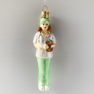 Christmas Decoration Lady Nurse