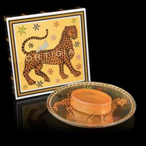 Ortigia gattopardo soap dish and soap
