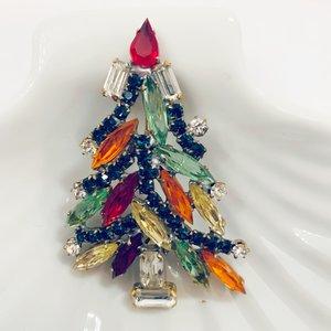 Kerstboombroche Kleurrijk