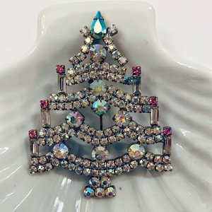 Kerstboombroche  Opalescent