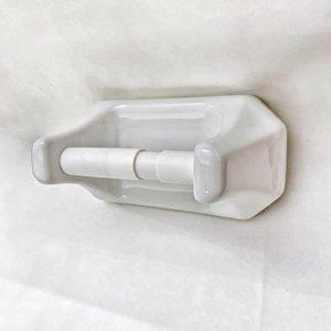 Toilet roll holder Ceramique white