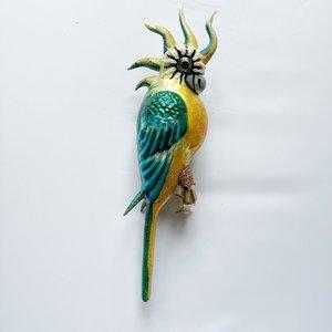 Vogelclip Grote Kaketoe Groen
