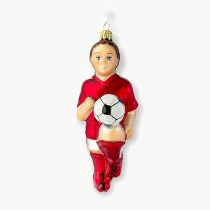 Christmas Decoration Soccer Player