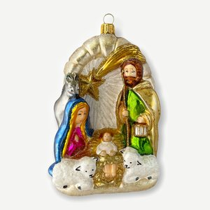 Christmas Decoration Nativity Scene
