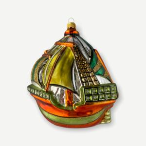 Christmas Ornament Large Sailing Ship