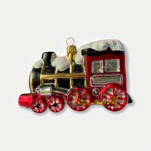 Kerstbal Locomotiefje