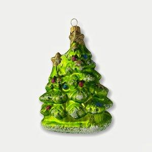 Kerstbal Dennenbomen
