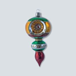 Kerstbal Reflector Kleurrijk