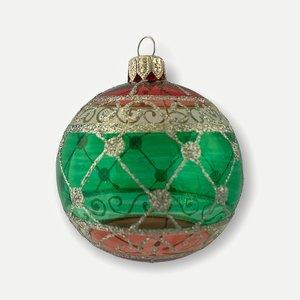 Kerstbal Groen Transparant