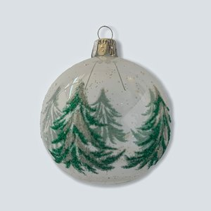 Kerstbal Dennenboompjes