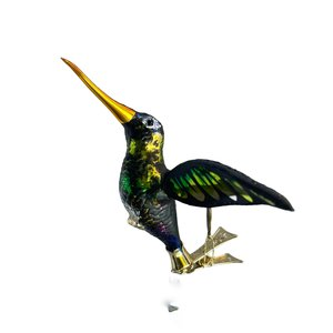 Vogelclip Kolibrie Donker