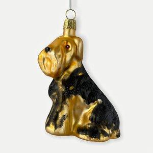 Kerstbal Airedale Terrier
