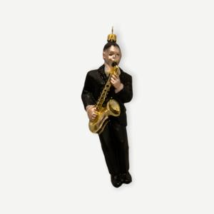 Kerstbal Saxofonist