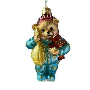Kerstbal Teddybeer