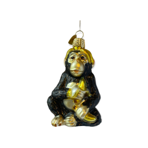 Kerstbal Chimp