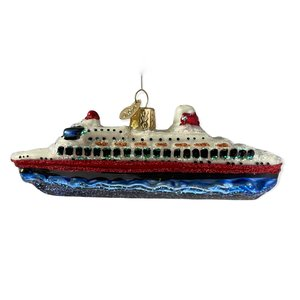 Kerstbal Cruiseboot