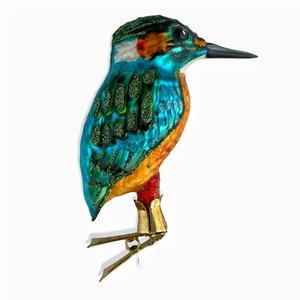 Christmas Decoration Clip Large Kingfisher