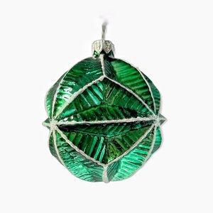 Kerstbal Groen Gevouwen