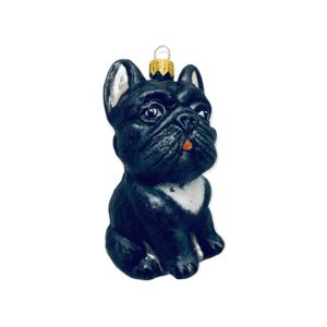 Christmas Decoration French Bulldog Black