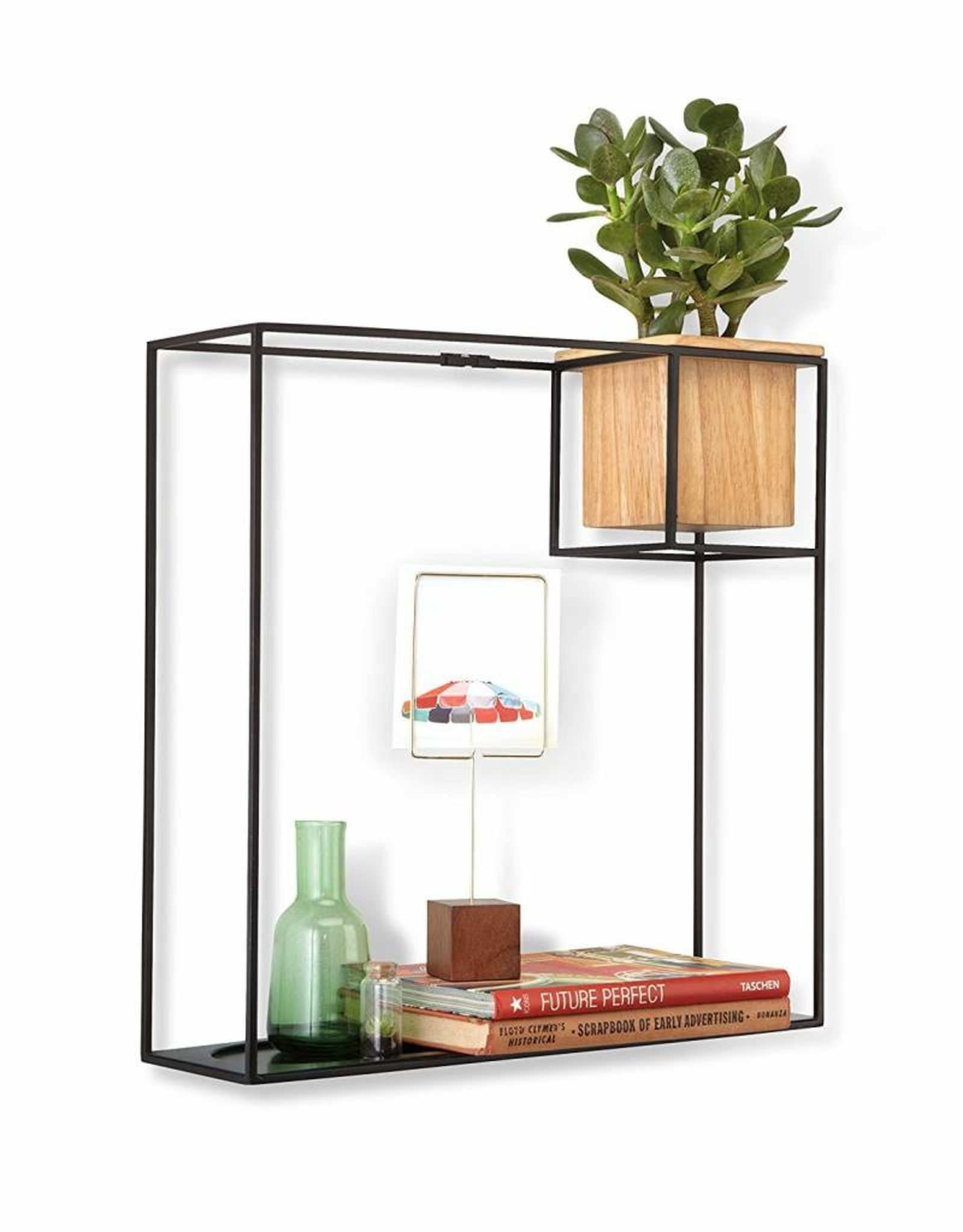 Umbra Umbra - Cubist shelf large sand/blk