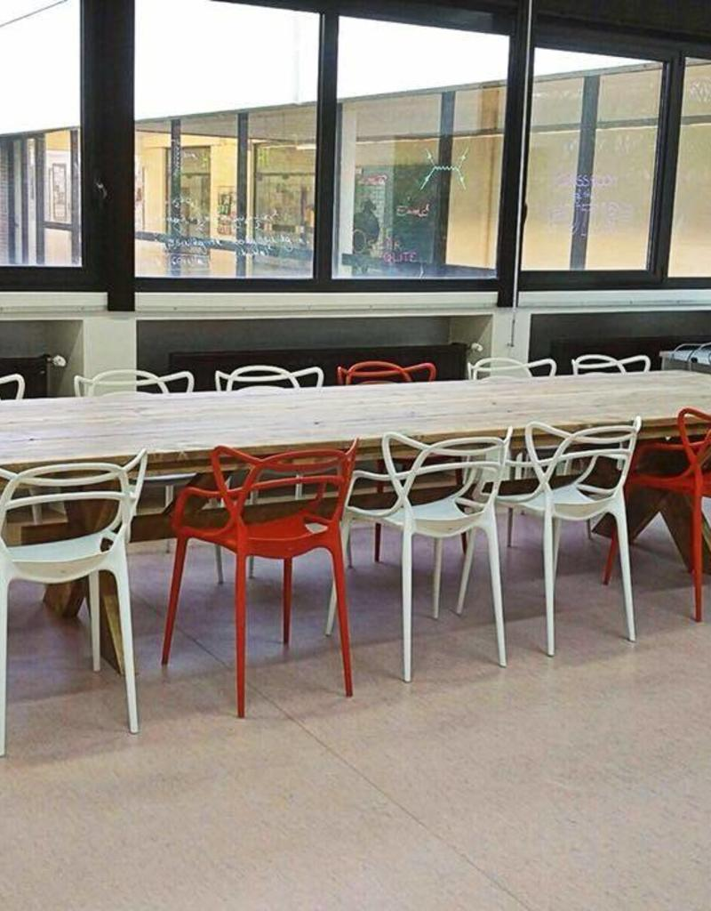 Thinkstyle Lorena tafel - gebruikt steigerhout